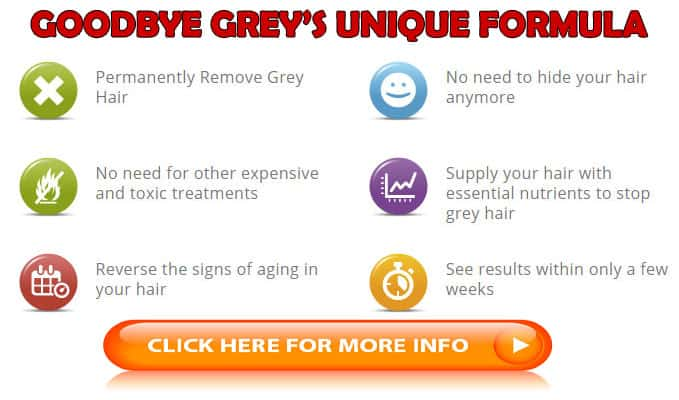 Goodbye Grey's Best Formula to restore the natural hair color