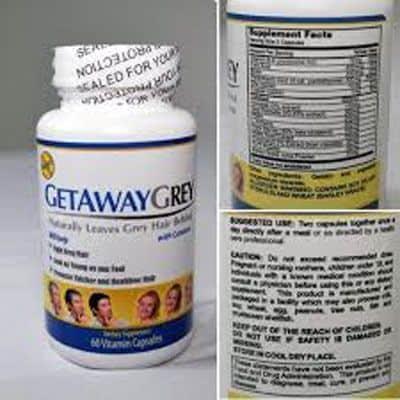 get away grey ingredients