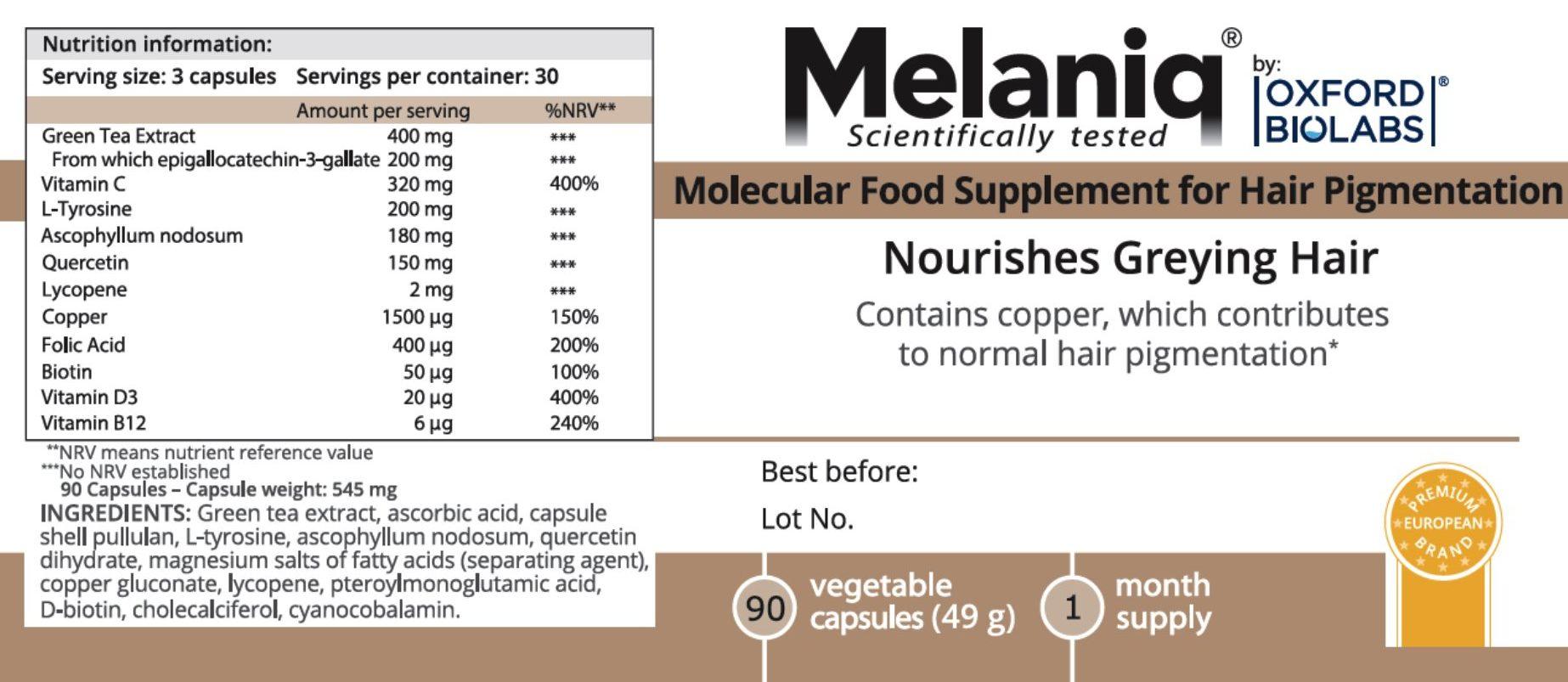 Melaniq new label