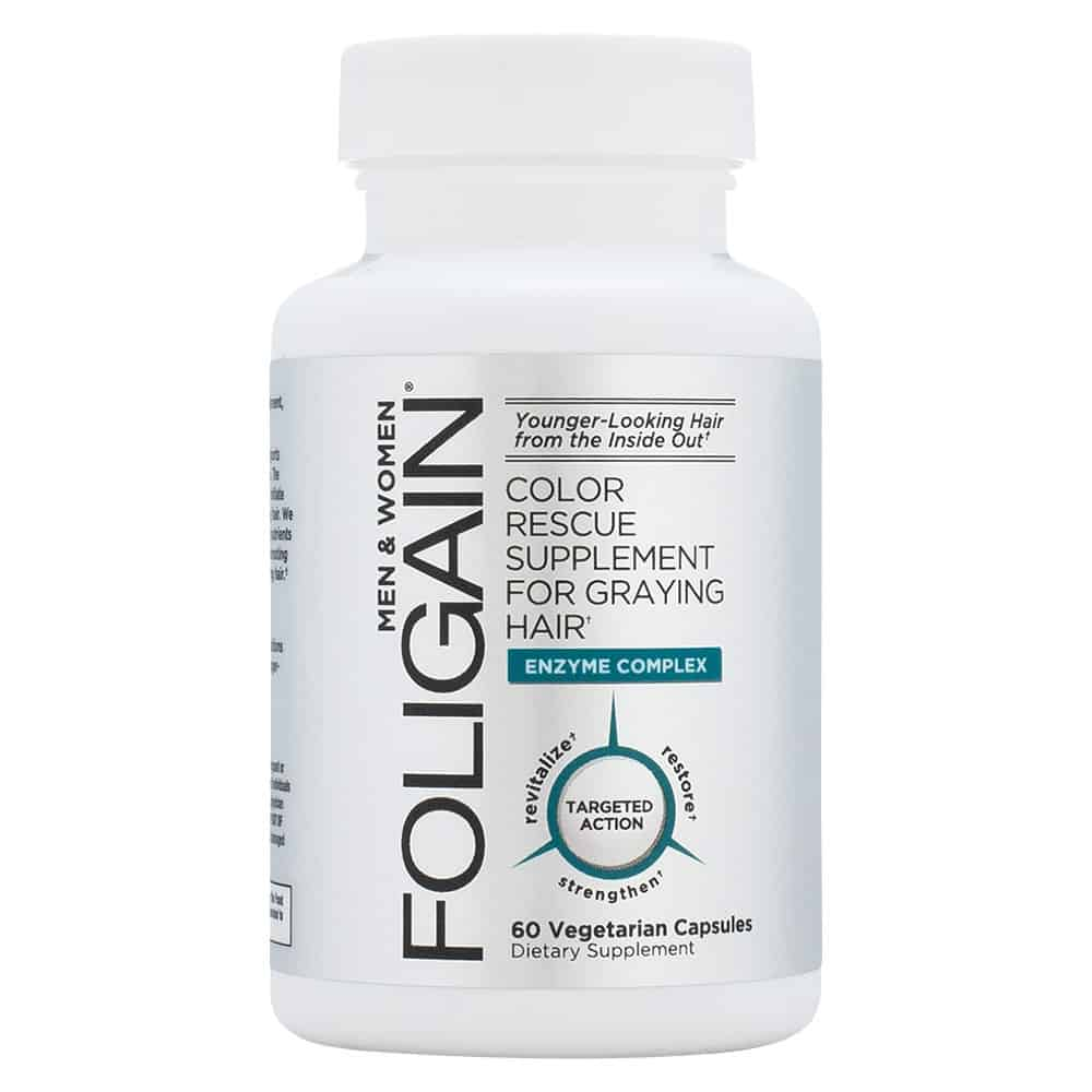 Foligain Grey Hair Supplement Review