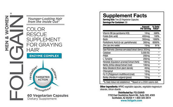 foligain back label ingredients