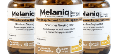 Melaniq – British Anti Gray Hair Product By Oxford BioLabs – Does It Work or Scam?