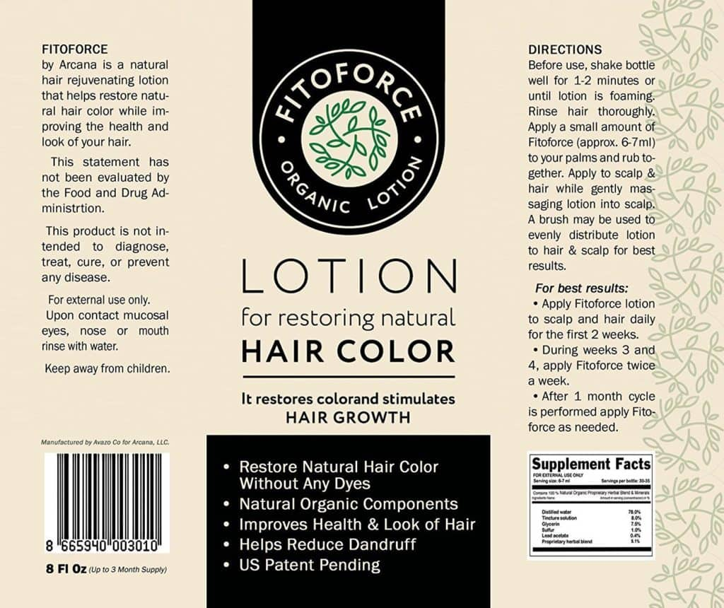 how to use fitoforce lotion